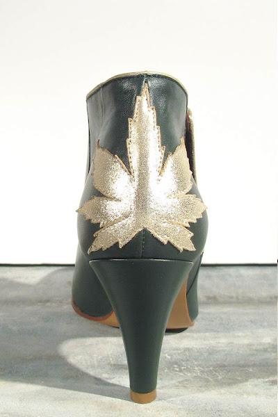 boots Patricia Blanchet Kaktus vert anglais
