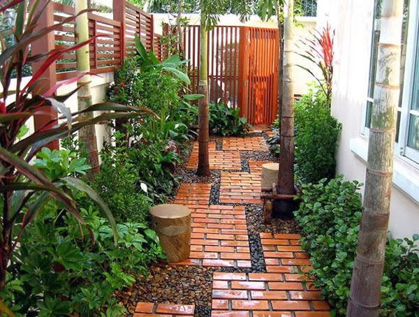 Garden Design Ideas: Brick Pathway