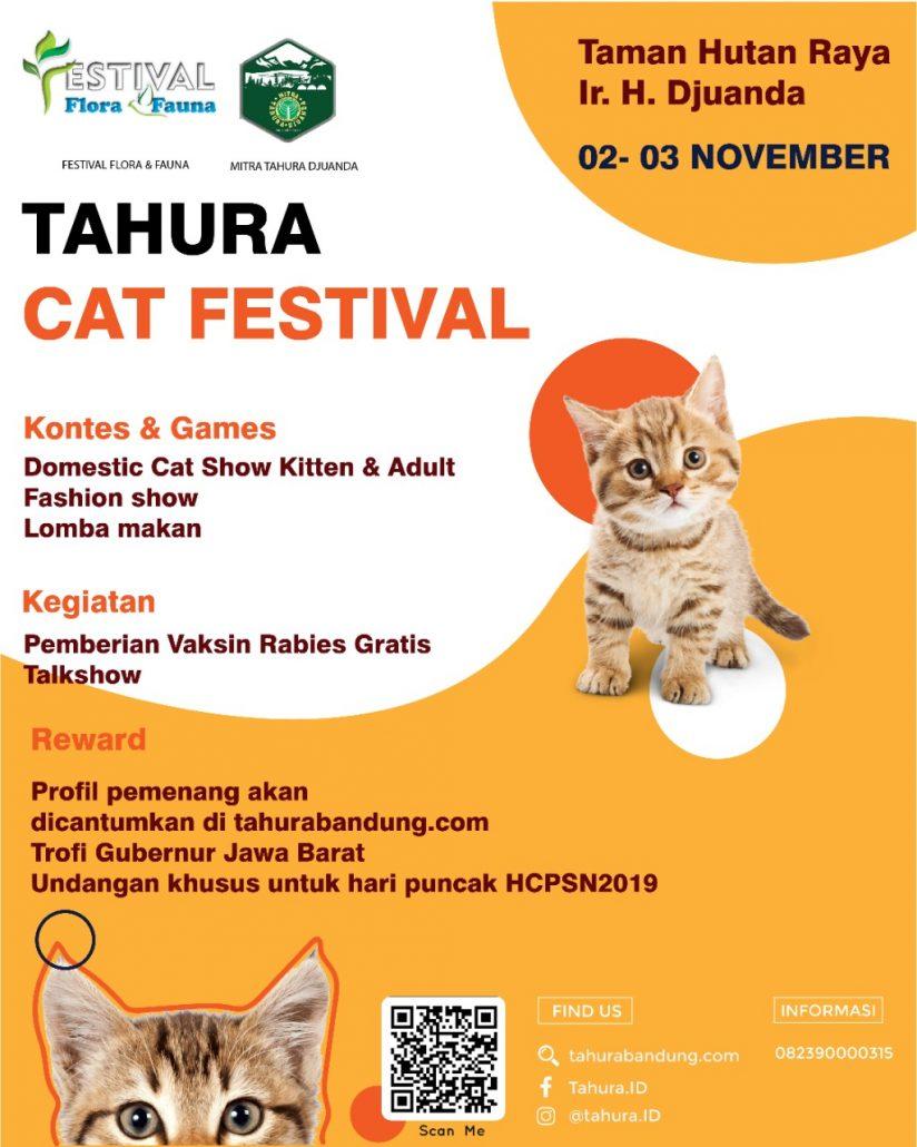 Tahura Djuanda Gelar Festival Kucing