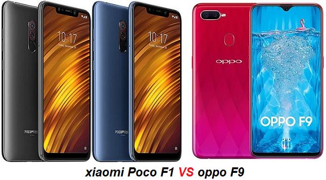 oppo-f9-VS-xiaomi-pocophone-f1-compear