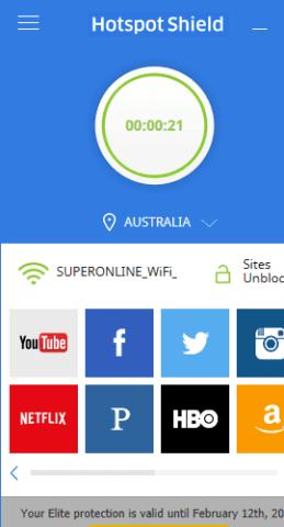 Hotspot Shield Elite VPN 5.20.11 Crack