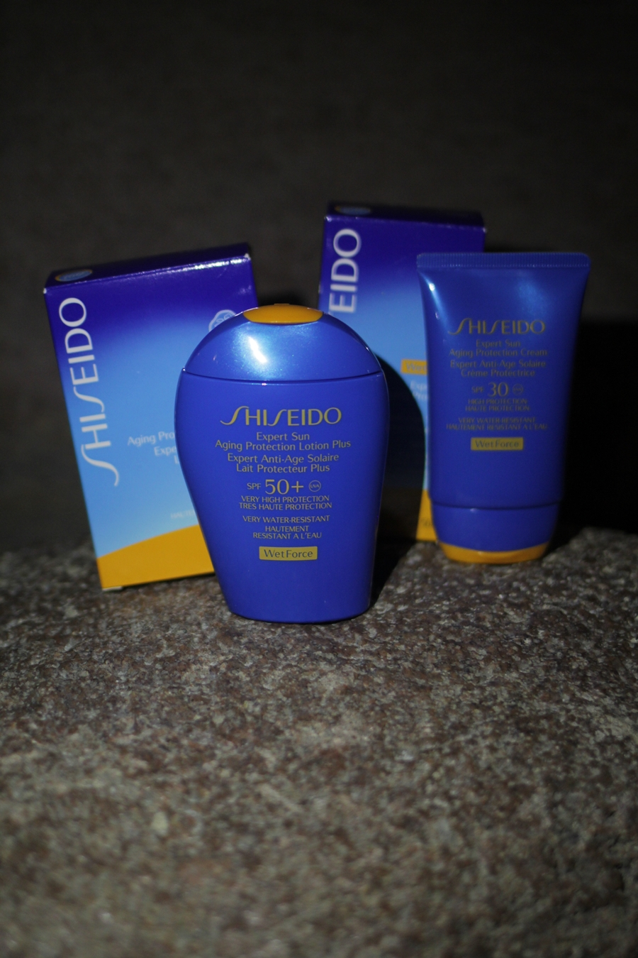 shiseido sonnencreme kadewe counter