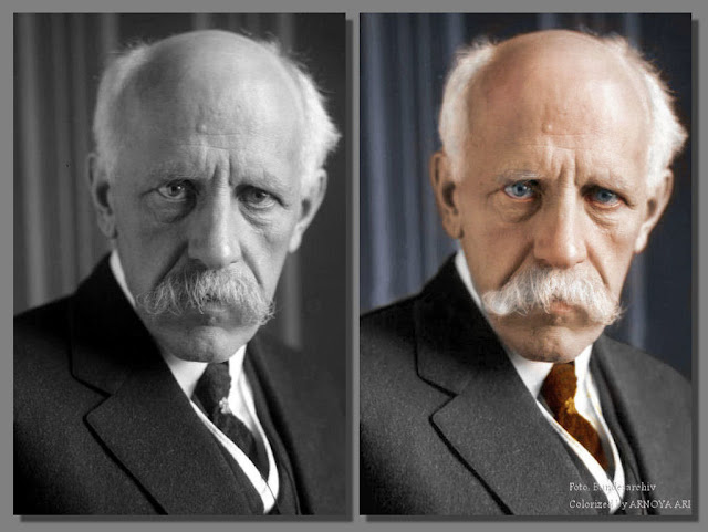 Fridtjof Wedel-Jarlsberg Nansen, color, colorization, colorized