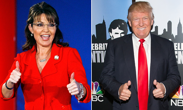 Pass the popcorn — Palin set for TV interview with Trump