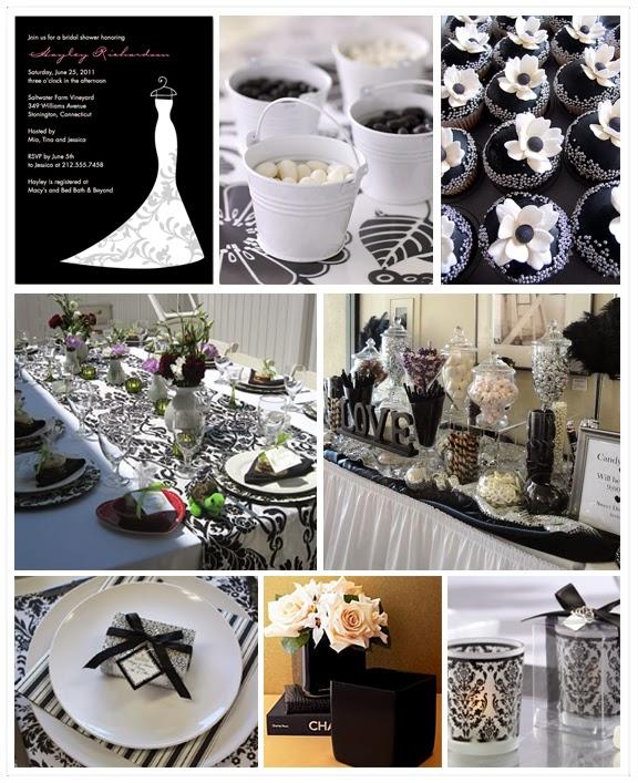 Black and White Wedding Theme   Wedding Stuff Ideas
