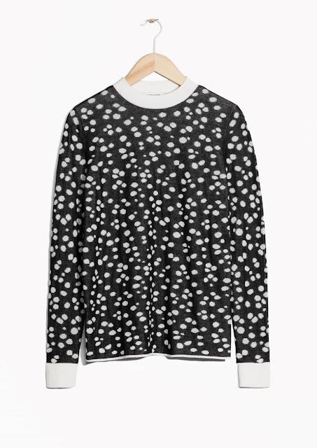 spotty jumper