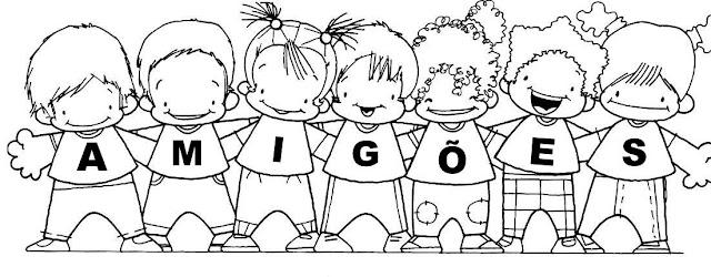 Resultado de imagem para amigos para sempre na educação infantil