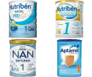 Qual melhor leite para bebé de 0 a 6 meses?
