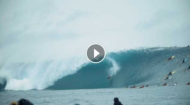 Everything You Haven t Seen From the Massive May 2018 Cloudbreak Swell