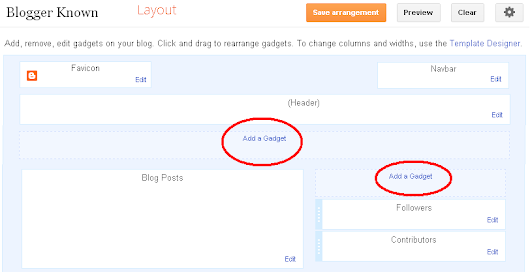 Add Click to Drop Down Menu Widget for Blogger ~ HaakBlog