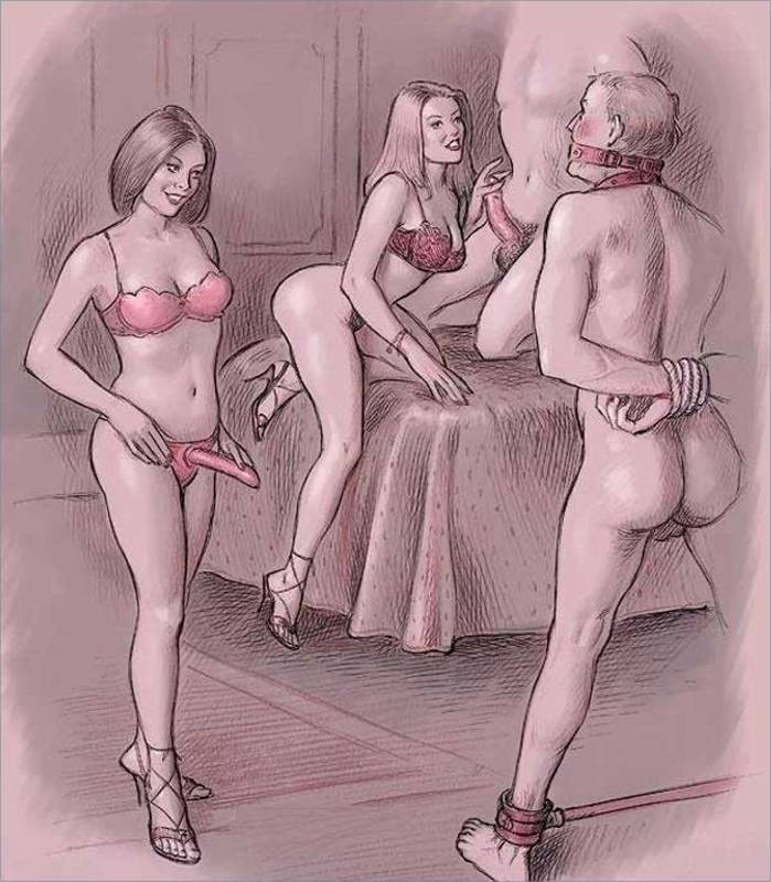 nude-femdom-bootlickers-cartoon-draw-art-masturbation-sin