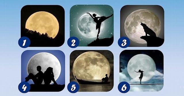 La luna que te atraiga más dirá tu rasgo oculto