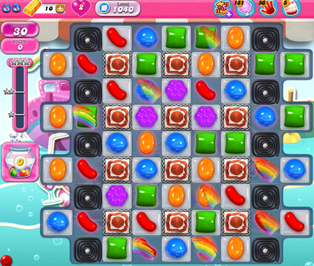 Candy Crush Saga 1040
