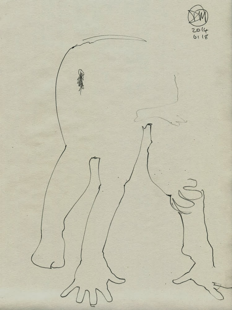 2 minute nude by David Meldrum
