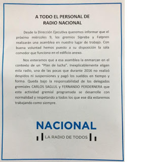 ATRANA REPUDIA LAS AMENAZAS PATRONALES CONTRA LA JORNADA DEL 9 DE NOVIEMBRE