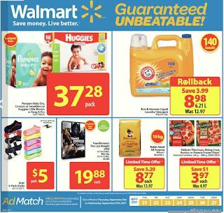 Walmart Weekly Flyer September 21 – 27, 2017