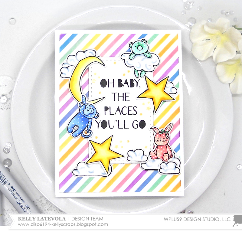 Stamp Away With Me Colorful Little Dreamers With Kelly