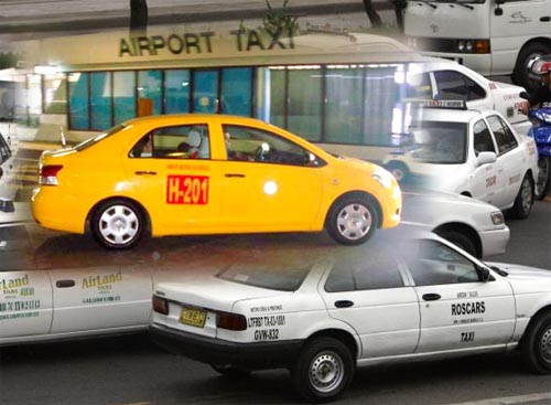 taxi flagdown rate in metro manila