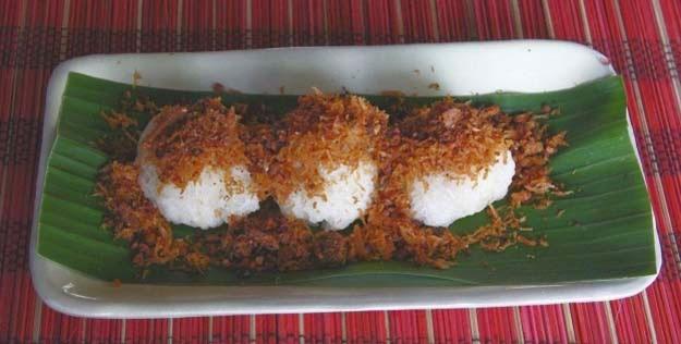 Resep Ketan Serundeng manis gurih khas jogja