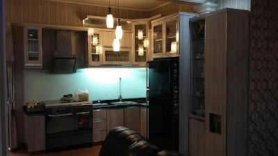 Gambar Kitchen Set Minimalis Taman Galxi Bekasi Selatan