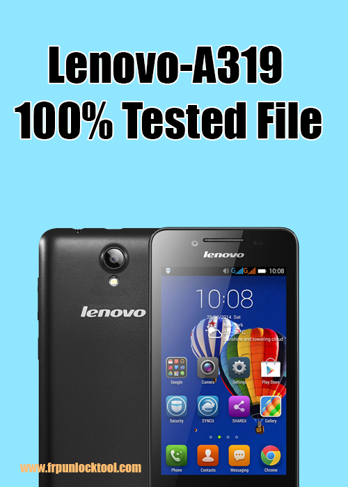 FRP UNLOCK TOOL: Lenovo-A319-Flash 100% Tested | Free Download