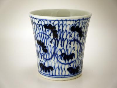 明治時代の会津本郷系?の向付あるいは小杯・小碗