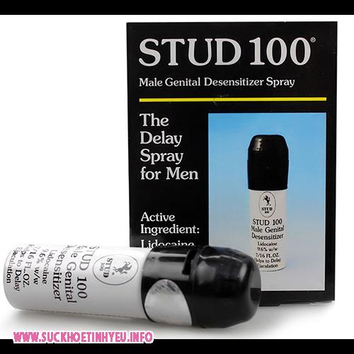 Thuốc Kéo Dài Thời Gian Quan Hệ Stud 100