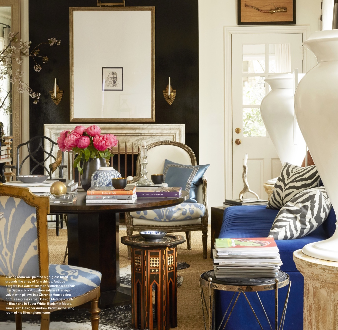 Interior Decorating Bookshelves: Splendid Sass: INTERIOR DESIGN