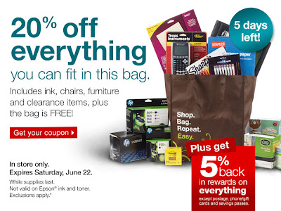 20% Off Everything Staples Coupon