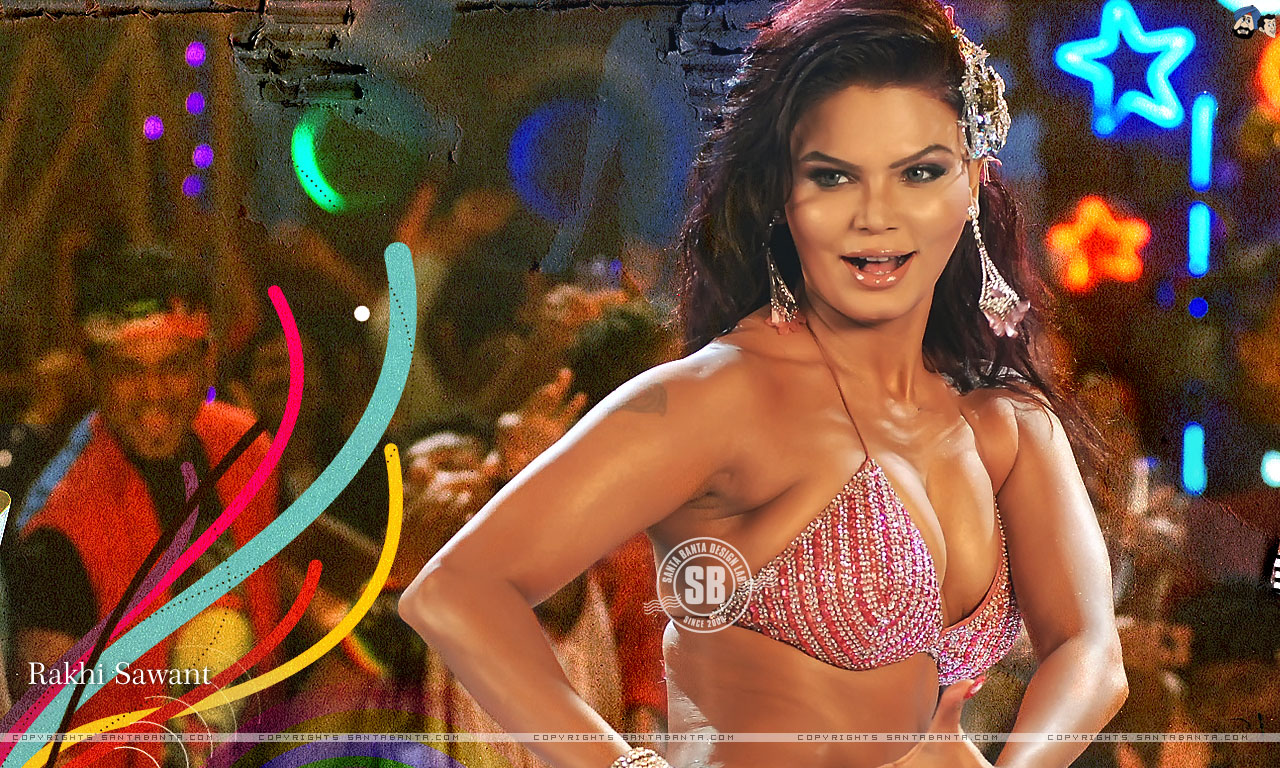 Hot And Sexy Rakhi Sawant Wallpaper Album - Shes In -8996