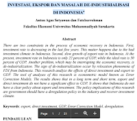 Contoh Jurnal Masalah Industrialisasi Di Indonesia Pdf Download Gratis