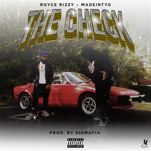 Royce Rizzy - The Check (feat. Madeintyo) - Single   Cover