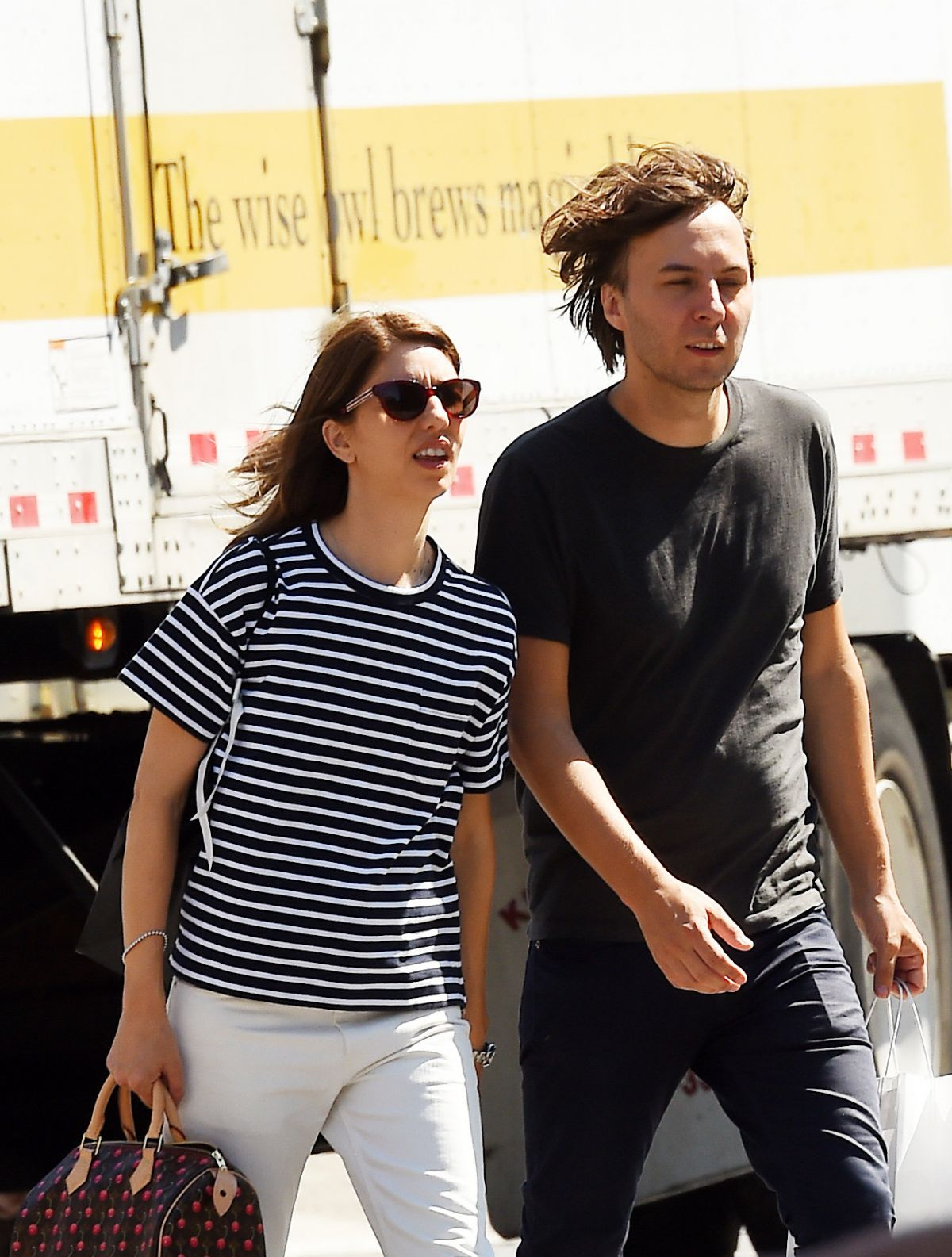 Sofia Coppola out and about in NY City