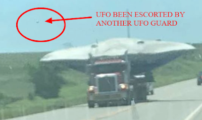 UFO witness actually saw 2 UFOs instead of one.