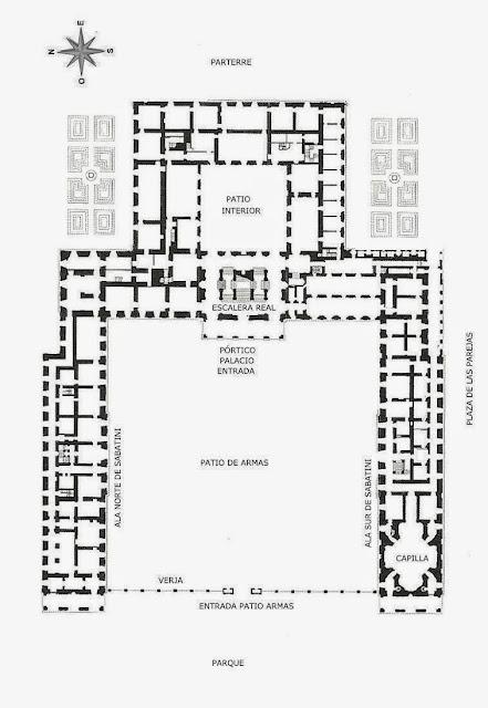 Palacio de Versalles | Organización e influencias arquitectónicas | Philibert Le Roy