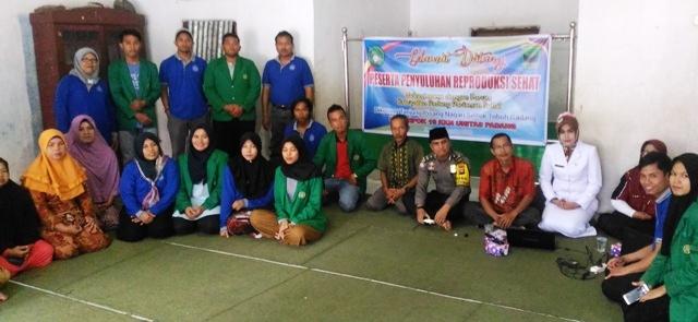 KKN Unitas dan FKS Padang Pariaman Penyuluhan Reproduksi Sehat