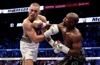 MAYWEATHER KNOCKS OUT MCGREGOR