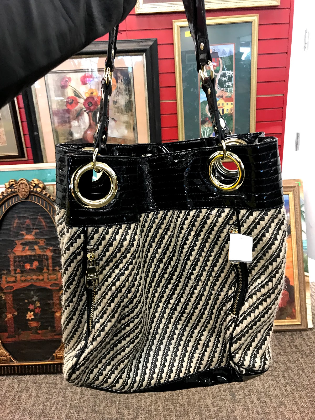 Handbag at the Salvation Army Thrift Store