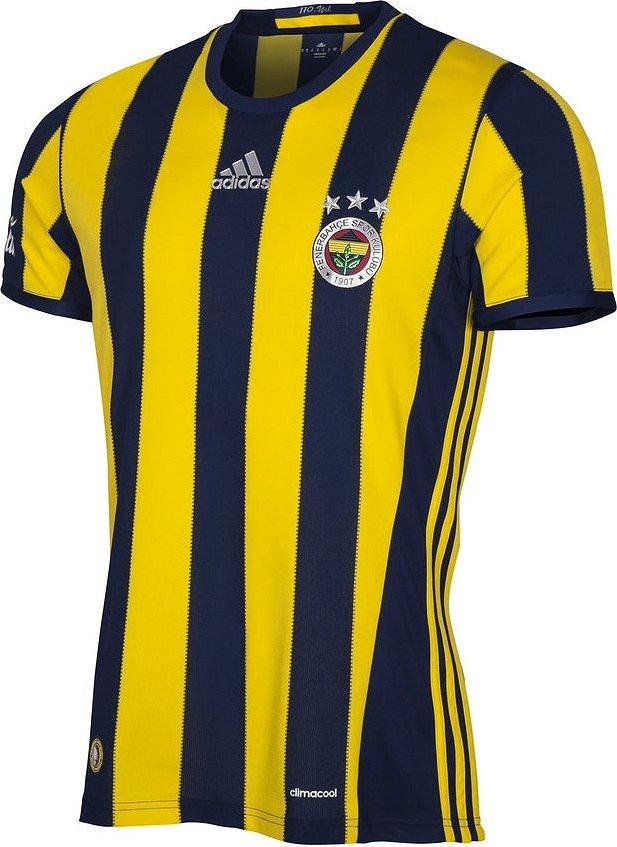 Adidas divulga as novas camisas do Fenerbahce - Show de Camisas c2da49505748d