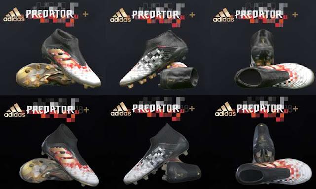 Adidas Predator 18+ Telstar PES 2017