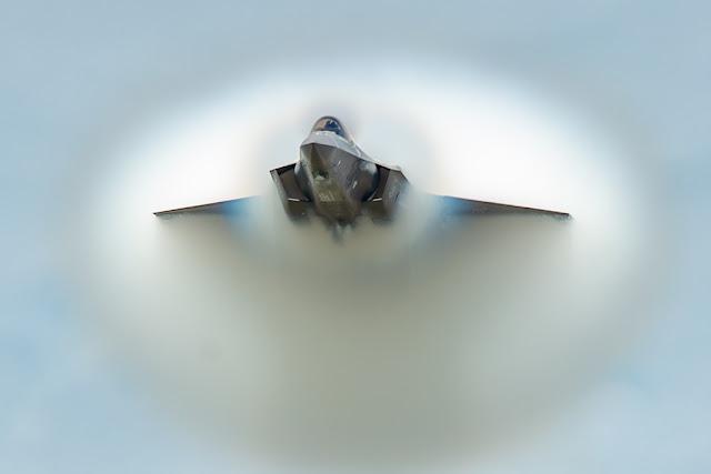 USAF F-35 Demo Airshow 2019