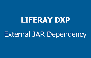 How to specify external jar dependency in Liferay DXP