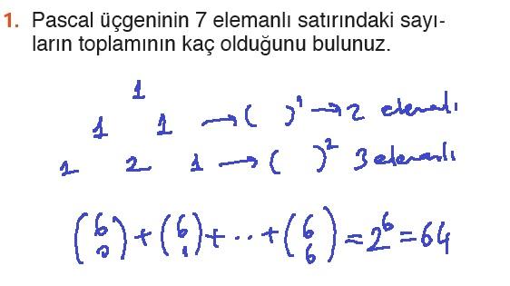 10. Sınıf MEB Yayınları Matematik 49. Sayfa Cevapları