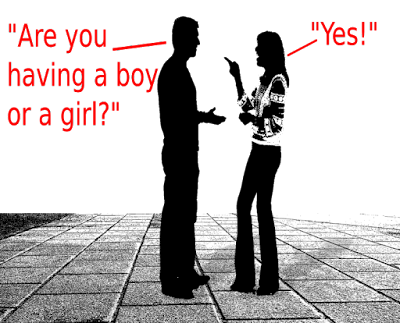 Why I Don't Want to Know the Gender of My Baby (Until It's Born, That Is) -- Everyone, and I mean everyone, finds out ahead ahead of time whether they're having a boy or girl. I used to, but here's why I don't want to know this time around. {posted @ Unremarkable Files}