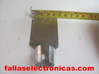 herramienta casera para soldar tubos de aire acondicionado