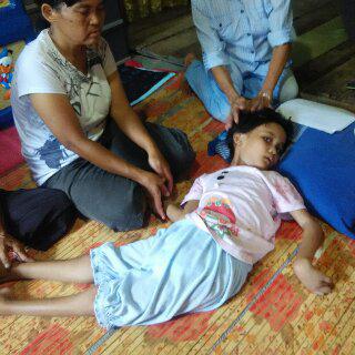 Bocah Penderita Meningitis Butuh Bantuan