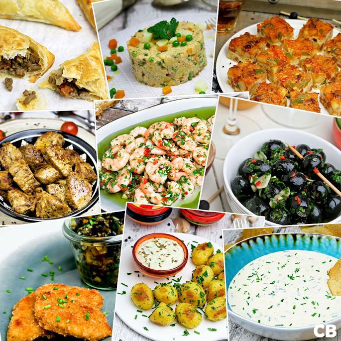 Recepten Tien TopTapas voor je Tuinparty