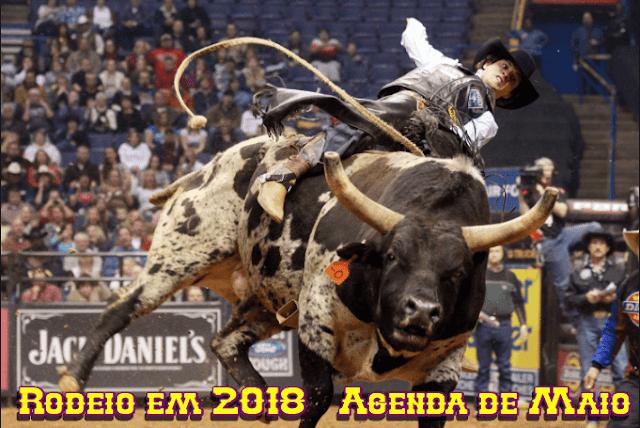 Agenda Rodeios Maio 2018