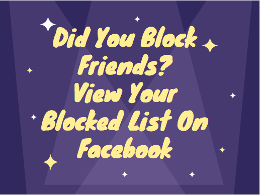 Image result wey dey for Know How To ViewKnow How To View Your Blocked List On Facebook in 2017 Your Blocked List On Facebook in 2017