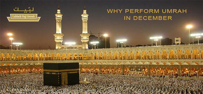 Umrah Banner: Labbaik Hajj Umrah: WHY PERFORM UMRAH IN DECEMBER